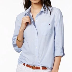 Tommy Hilfiger Women's Button Down 8
